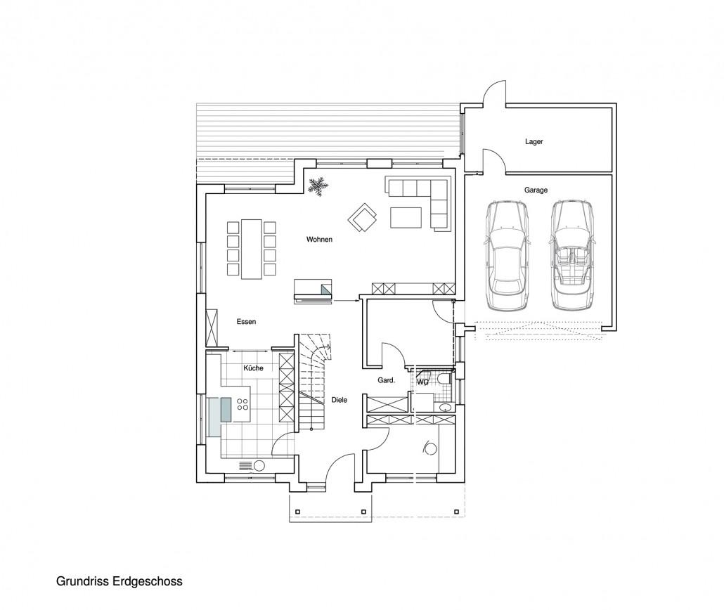 Architekt Georg Fischer | Einfamilienhaus in Kardorf
